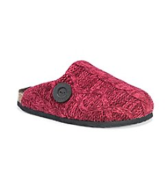 MUK LUKS Women's Sherpa Lined Clog Slippers