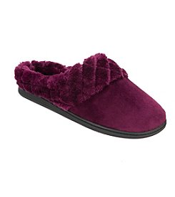 Dearfoams Velour Clog Slipper