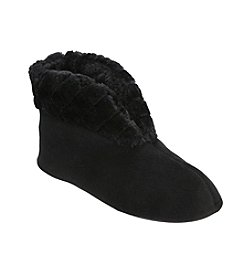 Dearfoams Velour Bootie Slipper
