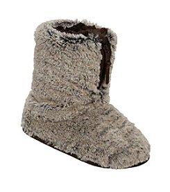 Dearfoams Pile Boot With Zipper Slipper