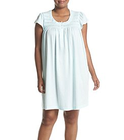 Miss Elaine® Plus Size Silky Nightgown