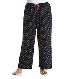 HUE® Plus Size Dotty Square Pajama Pants