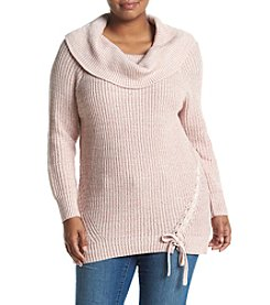 Jessica Simpson Plus Size Off-Shoulder Sweater