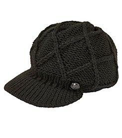 Ruff Hewn Solid Knit Cabbie Hat