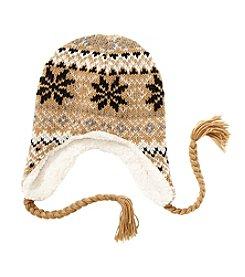 Ruff Hewn Fair Isle Sherpa Earflap Hat