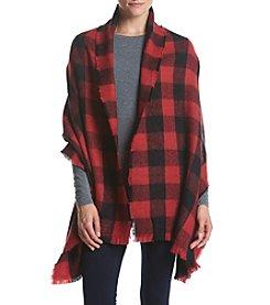 Ruff Hewn Buffalo Blanket Wrap