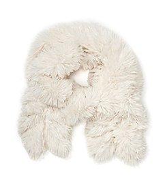 Cejon® Shaggy Fur Ruffle Scarf