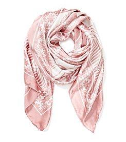 Cejon® Spanish Rose Paisly Square Scarf
