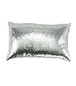 Melody Mermaid Sequin Decorative Pillow