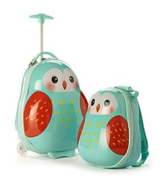 Heys® Travel Tots Owl 2-Pc. Luggage Set