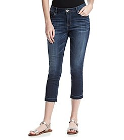 Ruff Hewn Release Hem Cropped Jeans