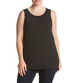 Ruff Hewn GREY Plus Size Shirttail Tank