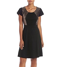 Relativity® Sequin Ponte Dress