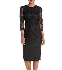 Jessica Simpson Sheer Lace Dress