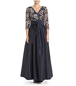Jessica Howard® Surplice Long Dress