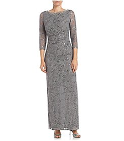 Jessica Howard® Side Tuck Lace Dress