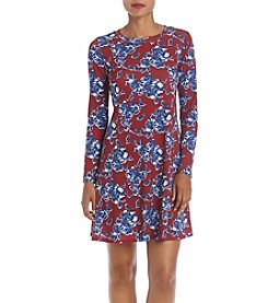 AGB® Floral Swing Dress