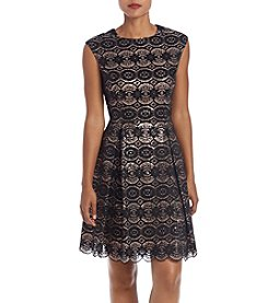 Vince Camuto® Fit And Flare Lace Dress