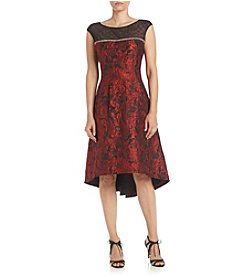S.L. Fashions Jacquard Sequin Party Dress