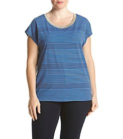 MICHAEL Michael Kors® Plus Size Car Stripe Top