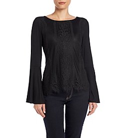 Cupio Bell Sleeve Lace Top