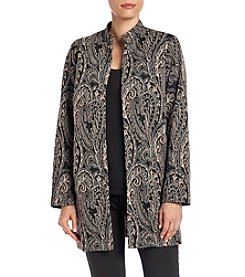 Cupio Scroll Print Jacket