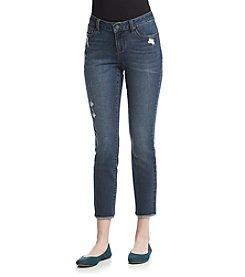 Earl Jean® Clean Release Hem Skinny Jeans