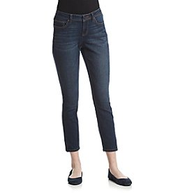 Earl Jean® Clean Zip Hem Skinny Jeans