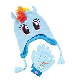 My Little Pony® Girls' Rainbow Dash Hat and Gloves Set