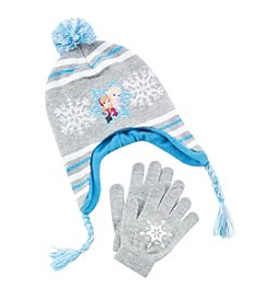 Disney® Girls' Frozen Hat and Gloves Set
