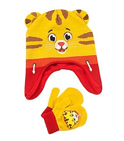 Disney® Boys' Daniel Tiger Hat and Mittens Set