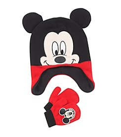 Disney® Boys' Mickey Hat and Mittens Set
