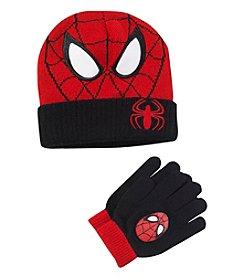 Spider-Man® Boys' Mask Hat and Gloves Set