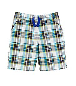 Mix & Match Boys' 2T-7 Plaid Shorts