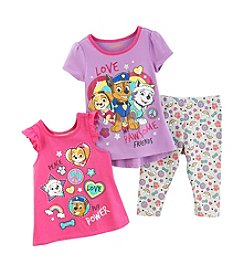 Nickelodeon® Paw Patrol Girls' 2T-4T 3-Piece Pawsome Friends Set