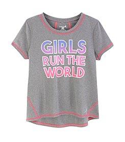 Exertek® Girls' 7-16 Girls Run The World Tee