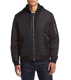 Sean John® Men's Hooded Bomber Jacket