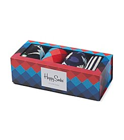 Happy Socks® Men's Faded Diamond Socks Gift Box