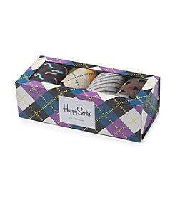 Happy Socks® Men's Argyle Socks Gift Box