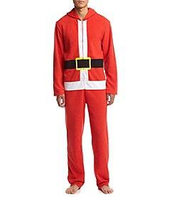 Seven Oaks Men's Santa Suit With Hood