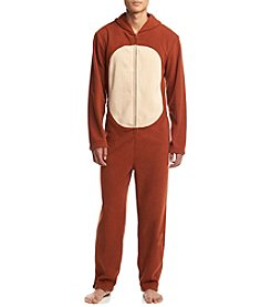 Seven Oaks Men's Reindeer Suit With Hood