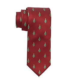 St. Nick's Tie Shop Woven Christmas Tree Tie
