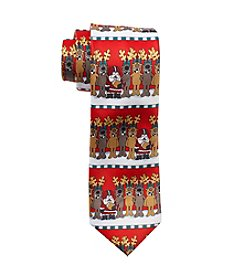HO HO HO Football Horizon Tie