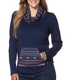 Chaps® Plus Size Fair Isle Pullover