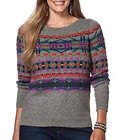 Chaps® Plus Size Fair Isle Sweater