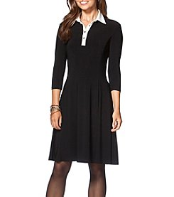 Chaps® Collared Dress