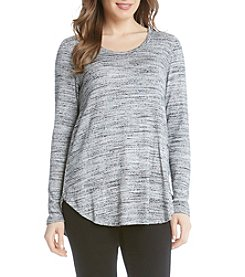 Karen Kane® Shirttail Top