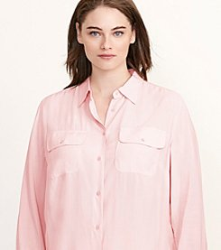Lauren Ralph Lauren® Plus Size Jersey Workshirt