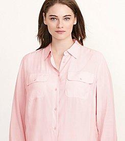 Lauren Ralph Lauren® Plus Size Jersey Workshirt