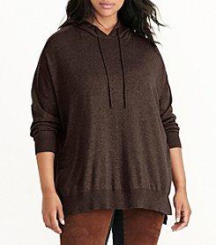 Lauren Ralph Lauren® Plus Size Cotton Jersey Hoodie